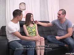 Freunde ficken um Geld